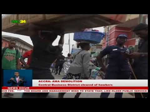 AMA decongests Central Business District of Accra