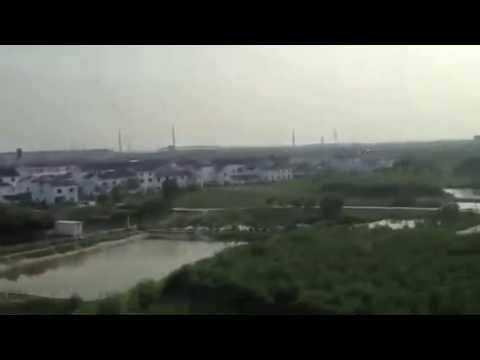 Shangai-Beijing en tren bala