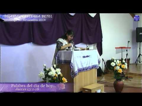 Palabra Para la Familia Pastora Jessica Silva Domingo 30 de Noviembre 2014