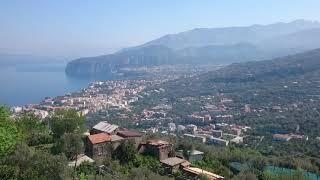 Sorrento, Vesuvius and Bay of Naples
