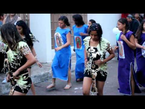 Niñas danzantes, Fiesta Guadalupana Zarquillas 2015