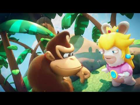 Mario + Rabbids Kingdom Battle [Switch] Donkey Kong DLC Trailer