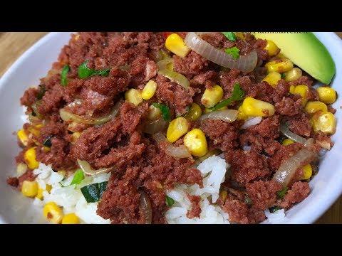 WEST INDIAN CLASSIC CORNED BEEF RECIPE || TERRI-ANN'S KITCHEN