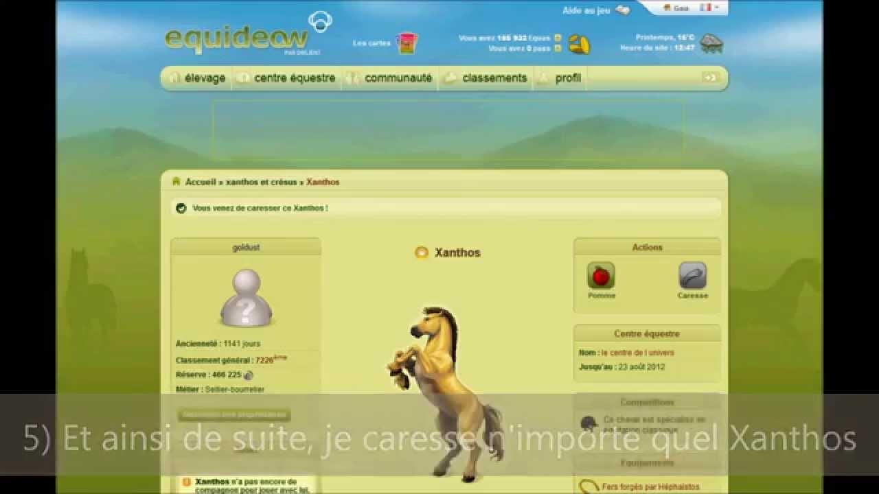 centre equestre xanthos