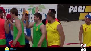 LegionXXI - Нововолынск (обзор голов) Пляжный гандбол, мужчины Чемпионат Украины