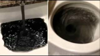 WTF! Water Is Black and Stinks In Southern California Community