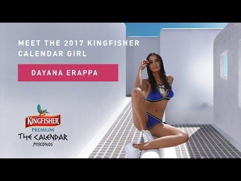 Kingfisher Calendar 2017 - Diana Erappa 360 Video