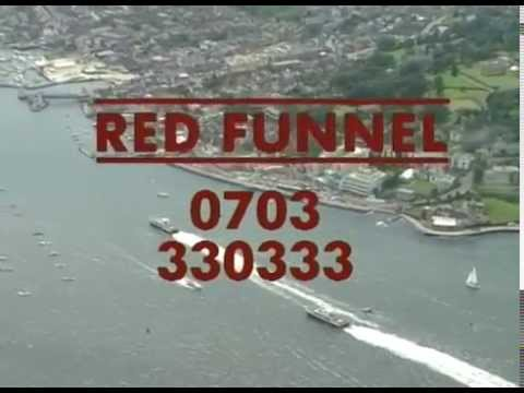 Red Jet Red Funnel Advert, Southampton - Cowes, Archive Promotional Video