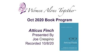 Oct 2020 Book Program - Atticus Finch