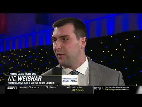 ESPN College Football Awards 2018 - Weish4Ever