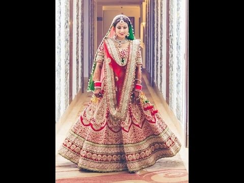 Indian Bridal Lehenga Cholis Designs 2016-2017 - Zikimo.Com