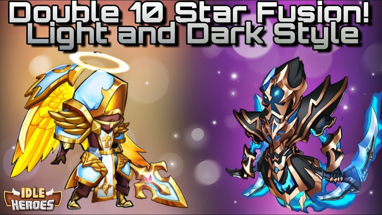 Idle Heroes (S) - Light And Dark Double 10 Star Fusion