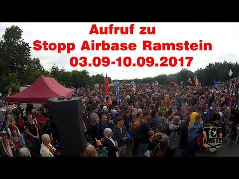 Stopp Airbase Ramstein - Aufruf zur Demo-Woche 2017