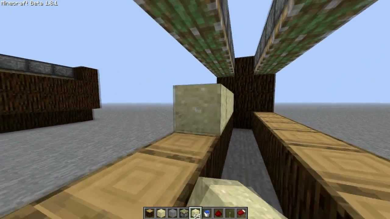 how to make a sand generator in minecraft