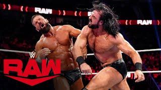 Big E Drew McIntyre vs Dolph Ziggler Robert Roode Raw Oct 4 2021
