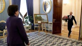 Putin congratulates First Woman in Space