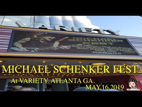 【特別企画モノ】MICHAEL SCHENKER FEST In VARIETY. ATLANTA. GA MAY.16.2019【RESURRECTION TOUR 2019/US TOUR】