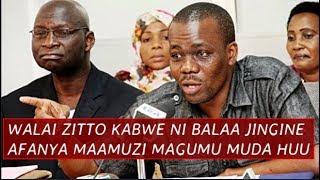 Walai Zitto ni Balaa Jingine, Afanya Maamuzi Magumu muda huu, hakuna kama Zitto ni Moto Kuotea mbali