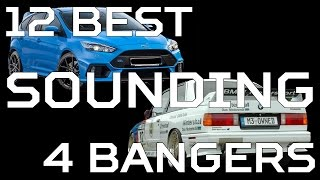 12 Best Sounding 4 Cylinders