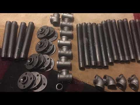 Rustic Iron Pipe Desk