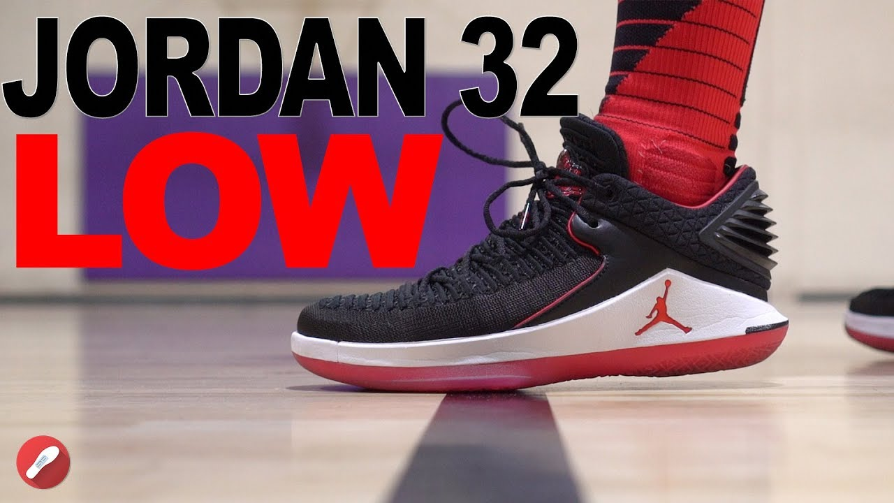 Jordan 32 LOW Performance Review!