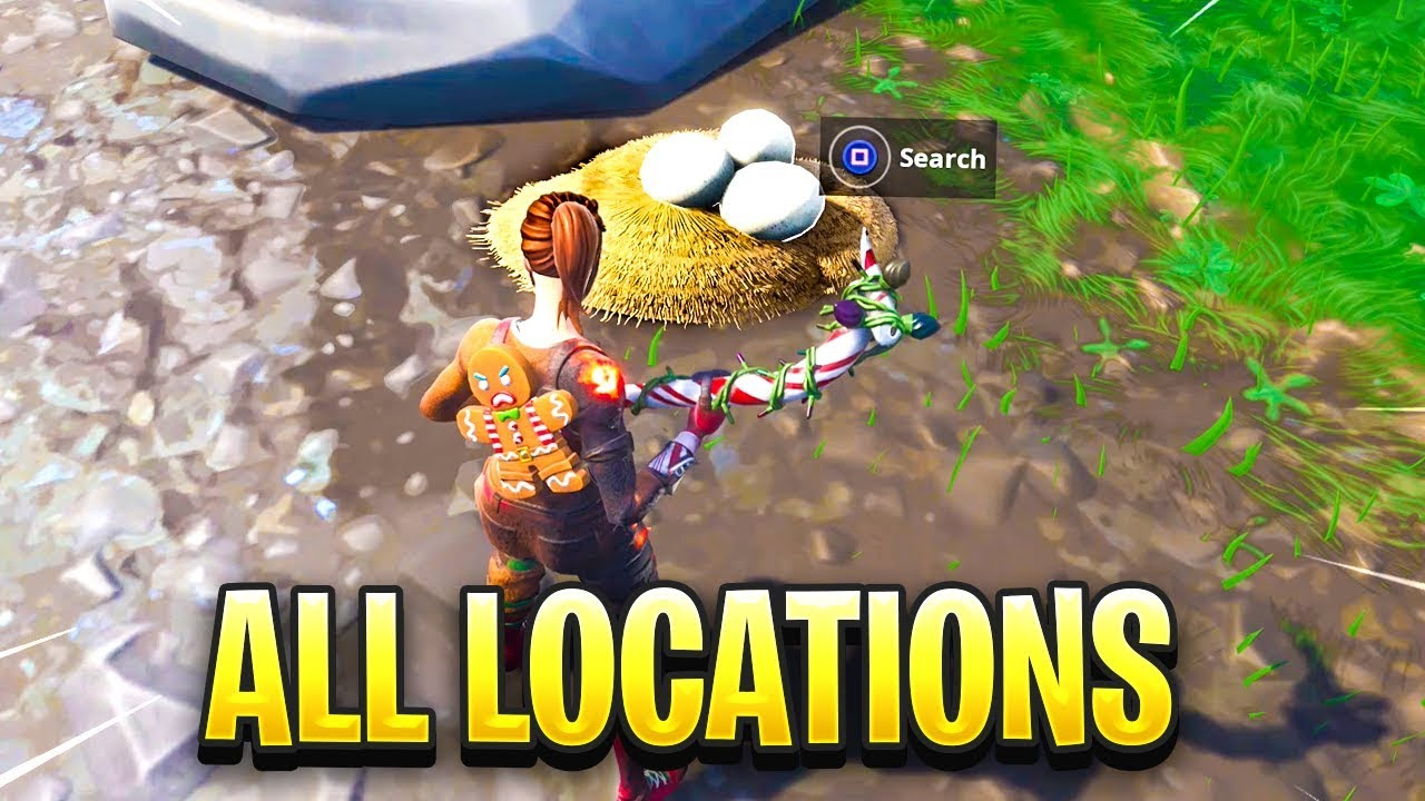 Search Waterside Goose Nests Fortnite Map Location Youtube