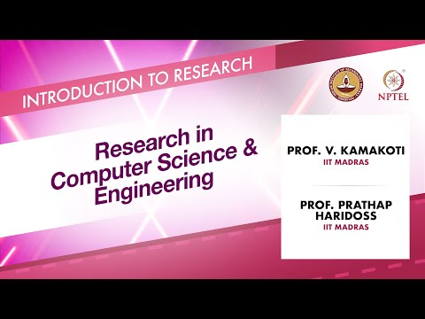 Research in Computer Science & Engineering