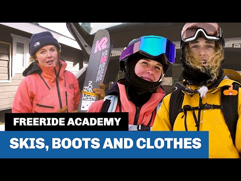 Alpine Equipment For Offpist Skiing: Clothes, Skis And Boots