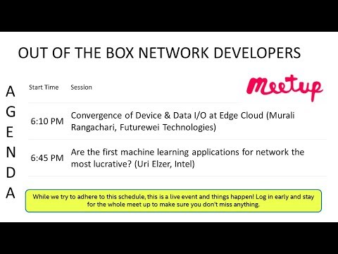 Out of the Box Network Developers