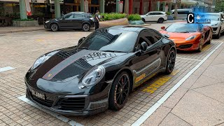 Pirelli Livery Porsche 911 Air Duct Up Close