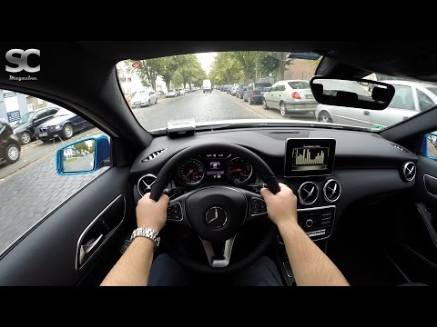 Mercedes-Benz A 200 (2016) - POV City Drive