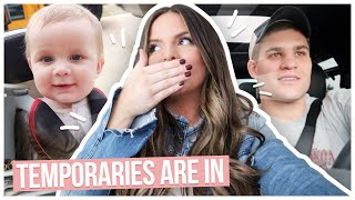 MY TEMPORARIES ARE IN! | Casey Holmes Vlogs