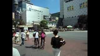 Перекресток Хатико. Сибуя. Токио.