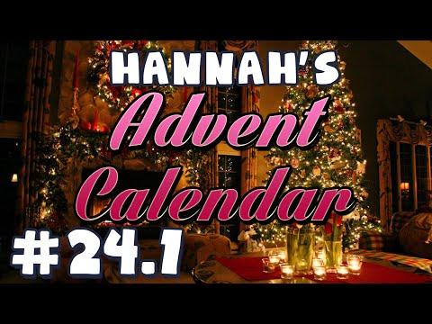 Hannah's Advent Calendar 2014 - Day 24 Part 1