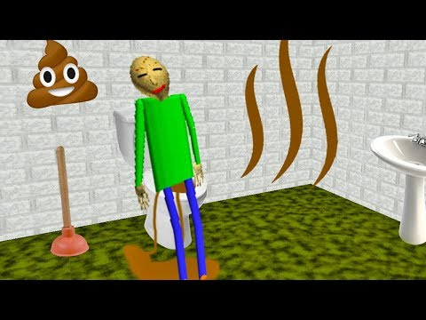 Funny moments in Baldi's Basics Animation || Experiments with Baldi Episode 01