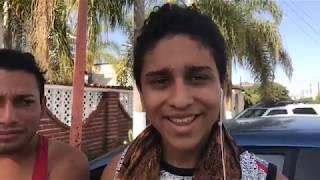 Integrantes de la caravana LGTB comparten sus experiencias al llegar a Tijuana.