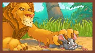 Șoricelul și Leul   The Lion and the Mouse   Povesti pentru copii   Copilul destept