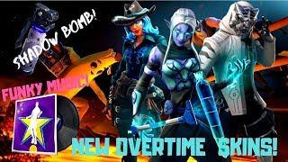 Fortnite-Overtime skins, cities degradation, Funky music! V 8,50!