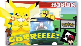 ROBLOX-GAVE The CRAZY IN PIKACHU (A Very Hungry Pikachu Classic)