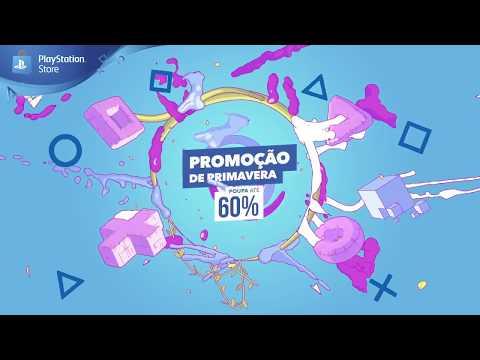 Promoção de Primavera da PS Store | Poupa até 60% em jogos e extras para a tua PS4!