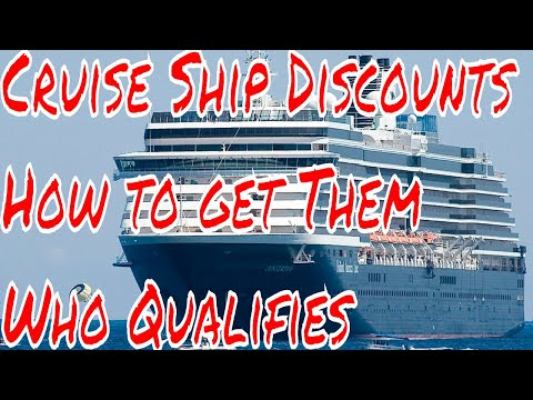 Cruise Ship Discounts How to Get Them Who Qualifies Airline Bump Offers and Stories