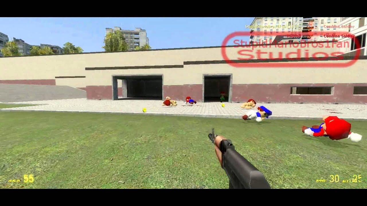 SM64 Mario Update Teaser 2 [Gmod Addon] (Short Mario Preview)