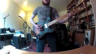 The Dillinger Escape Plan - When I Lost My Bet (Guitar Cover)