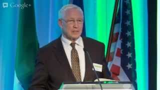 Live Link with Washington, DC. Global Diaspora Forum Robert Hormats & Tánaiste Eamon Gilmore