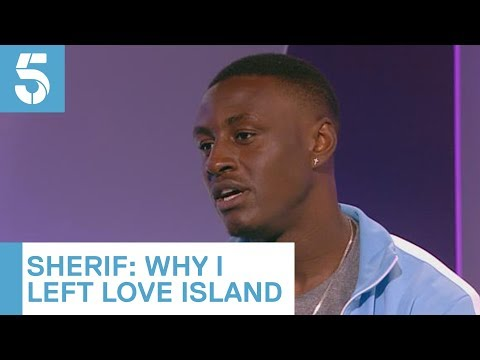 Why Sherif Left Love Island | 5 News