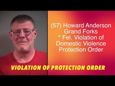 Grand Forks Man Charged With Violating Protection Order, Again