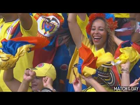 Japan vs Colombia highlights