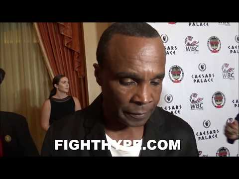 (PRICELESS!) SUGAR RAY LEONARD'S FACIAL REACTION TO MCGREGOR SPARRING MALIGNAGGI VIDEO; GOOD OR BAD?
