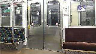 [国鉄車両のドア開閉]JR西日本113系  国鉄っぽい開け方・閉め方をするドア開閉シーン(草津線油日駅にて)