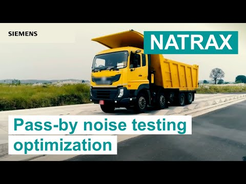 [NATRAX] Relies On Simcenter Testing Solutions To Optimize Pass-by Noise Testing